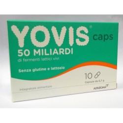 YOVIS CAPS 50 MILIARDI DI FERMENTI LATTICI VIVI  10 CAPSULE