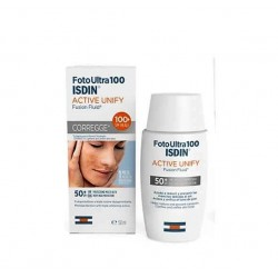 Foto Ultra 100  ISDIN Active Unify Fusion Fluid SPF 100+