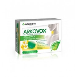 Arkovox 24 Caramelle Gola e Voce  gusto Menta e Eucalipto