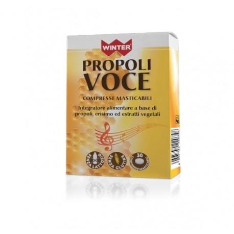 Propoli Voce Winter 30 Compresse Masticabili