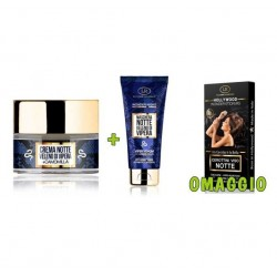 OFFERTA WONDER NIGHT CREMA NOTTE + MASCHERA NOTTE  OMAGGIO HOLLYWOOD STICKER CEROTTINI