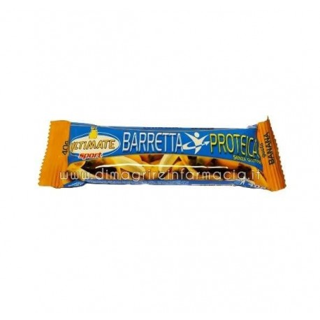 ULTIMATE BARRETTA PROTEICA GUSTO BANANA 40 G ULTIMATE ITALIA