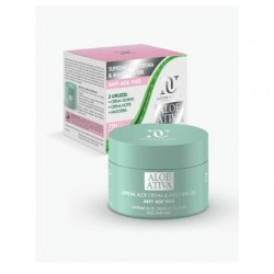 SUPREME ALOE ANTIAGE CREMA E MASCHERA GEL VISO 100 ML NATUR UNIQUE