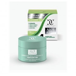 SUPREME ALOE PURIFICANTE CREMA E MASCHERA GEL VISO 100 ML NATUR UNIQUE