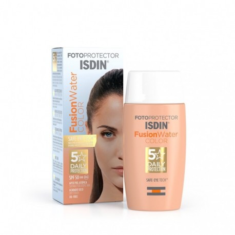 ISDIN FOTOPROTECTOR FUSION WATER COLOR SPF50 50ML
