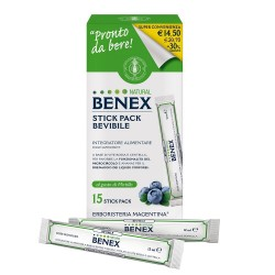 BENEX NATURAL 15 STICK PACK BEVIBILI
