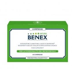 BENEX NATURAL 40 COMPRESSE