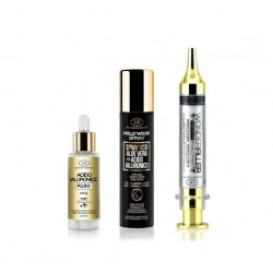 PROGRAMMA ACIDO IALURONICO  HYAL  + WONDER FILLER +  HOLLYWOOD SPRAY