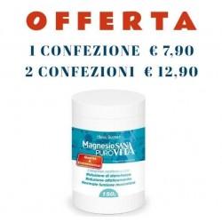 Sanavita Magnesio Puro  Riduce Stanchezza e Affaticamento 150 g