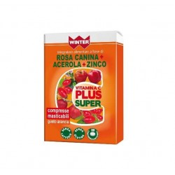 VITAMINA C PLUS SUPER WINTER 30 COMPRESSE MASTICABILI GUSTO ARANCIA