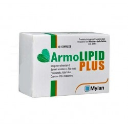 Armolipid Plus 60 compresse Integratore Controllo Colesterolo