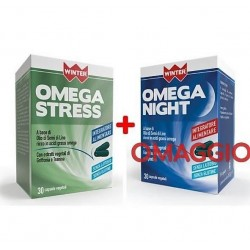 OMEGA STRESS 30 CAPSULE IN OMAGGIO OMEGA NIGHT 30 CAPSULE  WINTER