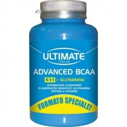 ULTIMATE ADVANCE BCAA INTEGRATORE DI AMINOACIDI RAMIFICATI