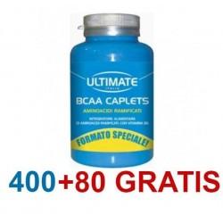 ULTIMATE BCAA CAPLETS 2:1:1 480 COMPRESSE AMINOACIDI RAMIFICATI CON VITAMINA B6
