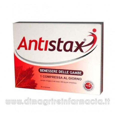ANTISTAX 30 COMPRESSE BENESSERE DELLE GAMBE