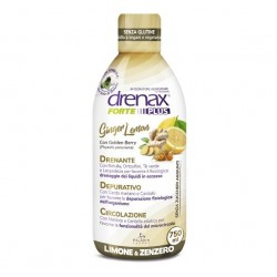 DRENAX FORTE GINGE LEMON PLUS  750 ML DRENANTE E DEPURATIVO