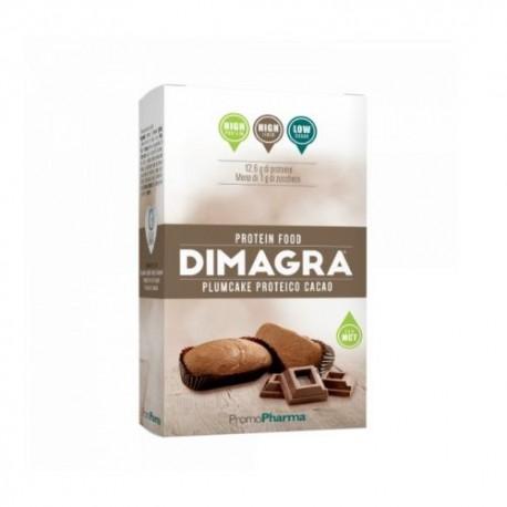 DIMAGRA PLUMCAKE PROTEICO GUSTO CACAO 200 G PROMOPHARMA