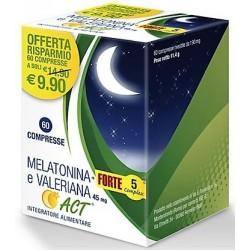 MELATONINA + FORTE 5 COMPLEX E VALERIANA ACT 60 compresse da 190 mg